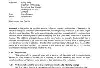 Pdf Structure Change Forecasting  Rapporteur Report Topic regarding Rapporteur Report Template