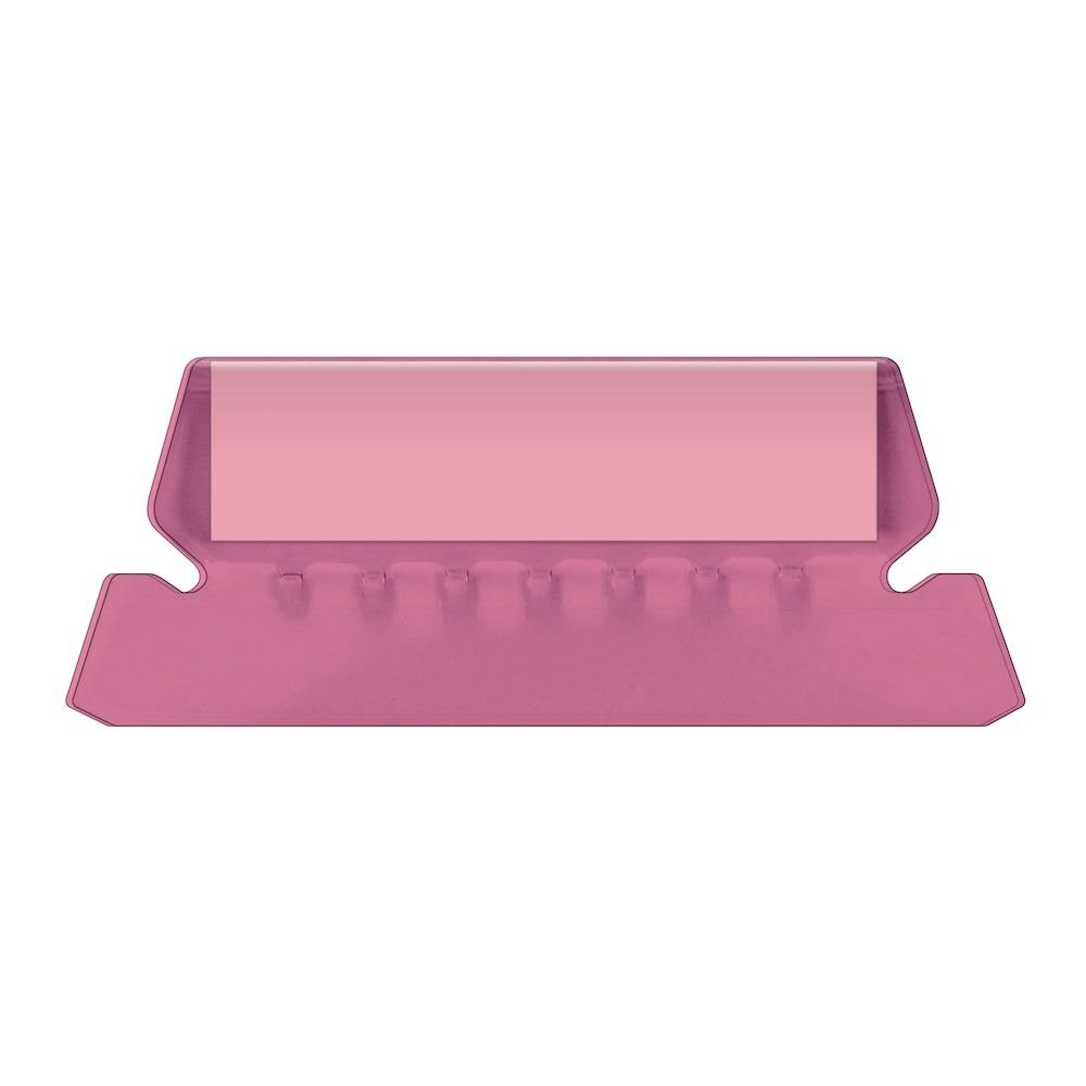 """Pendaflex Hanging Folder Tabs """" Clear Pink  Tabs  Inserts Per Within Pendaflex Label Template"""