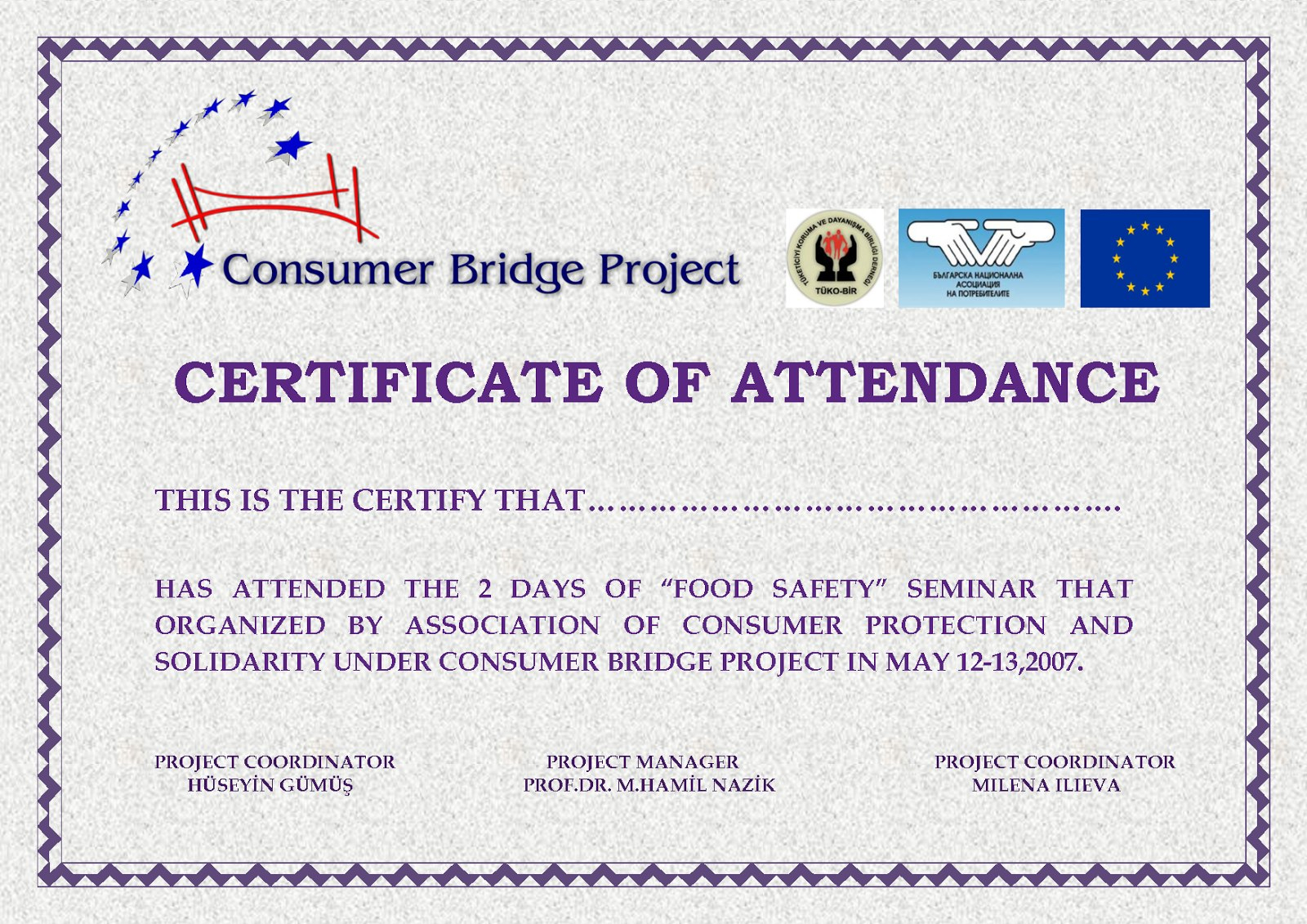 Perfect Attendance Certificate Templates  Free Download  Dtemplates In Free Certificate Templates For Word 2007