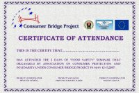 Perfect Attendance Certificate Templates Free Download Dtemplates within Perfect Attendance Certificate Free Template