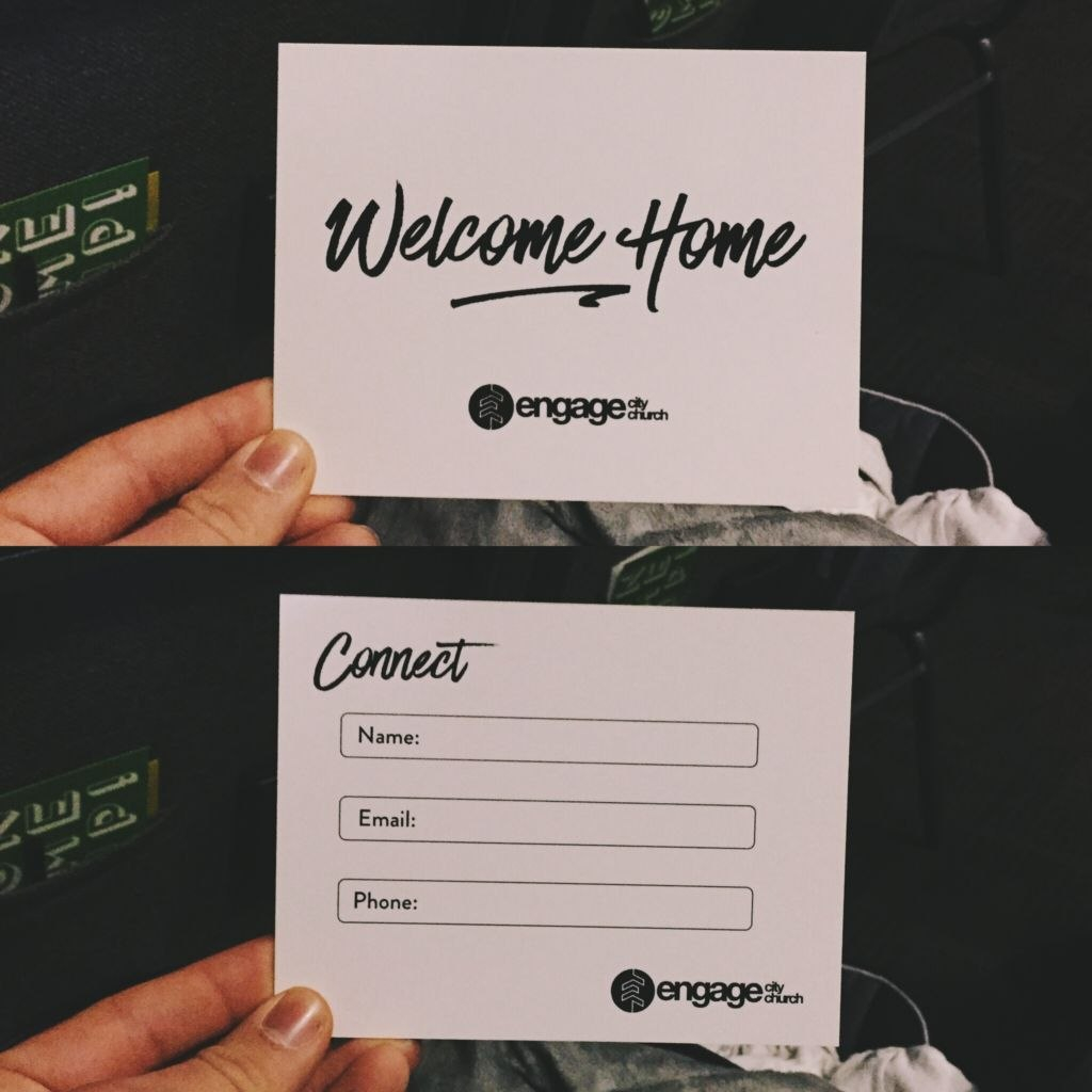 Perfect Church Connection Card Examples  Pro Church Tools With Regard To Church Visitor Card Template
