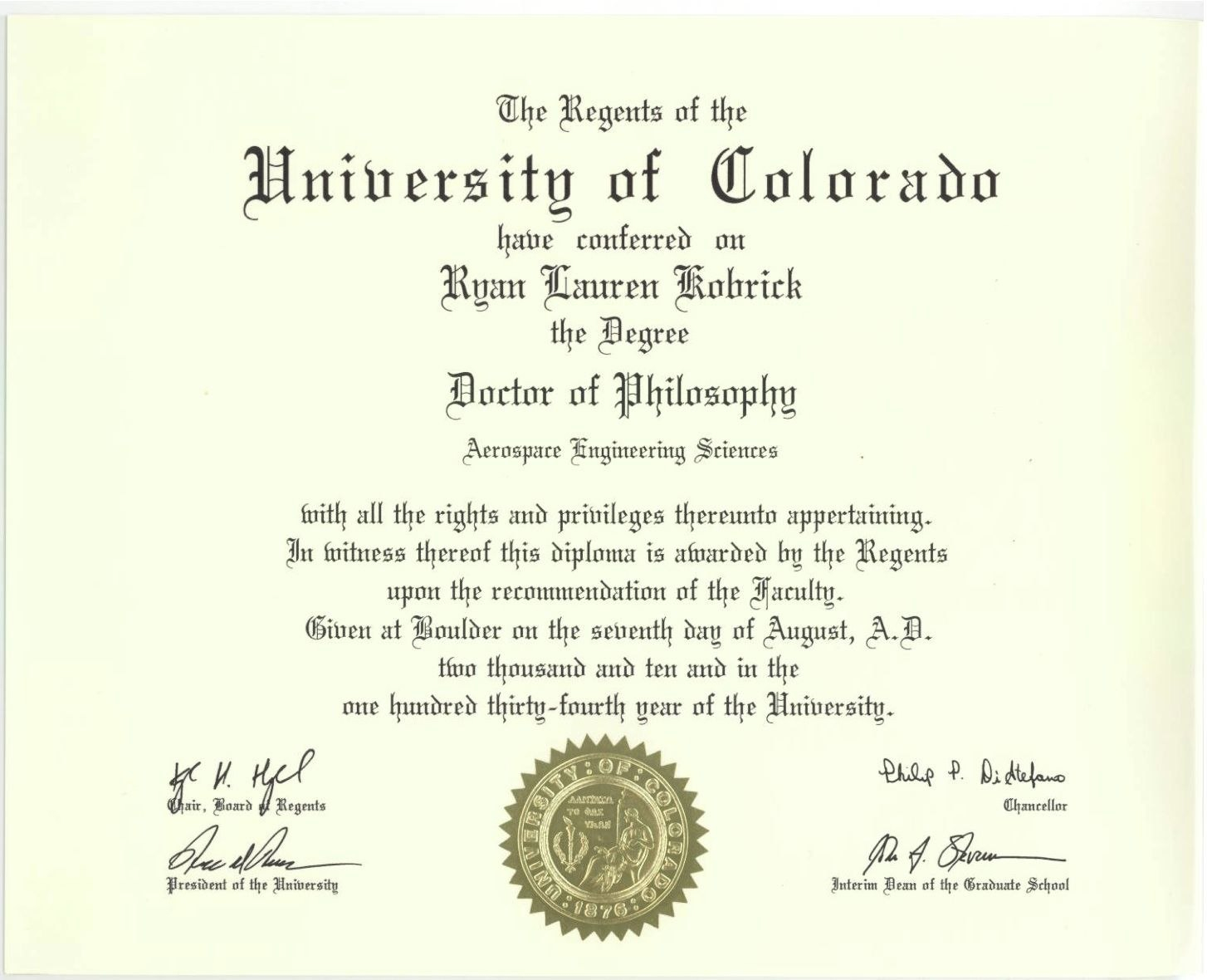 Phd Degree Template My Forth Degree A Symbol Of  Degree  College Inside Doctorate Certificate Template