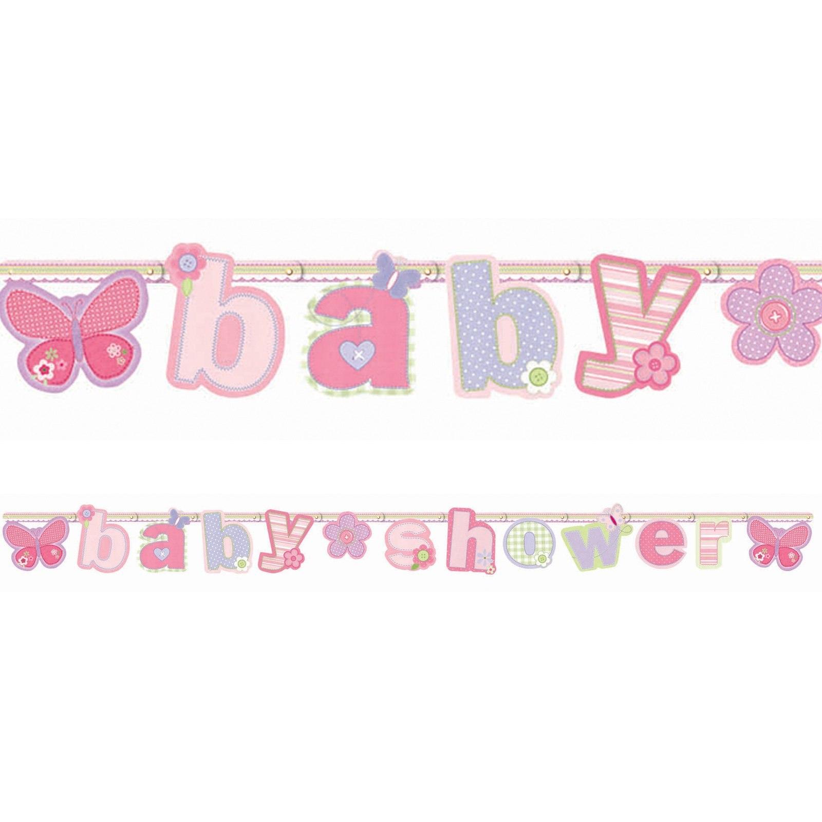 Photo  Baby Shower Banners Diy  Image Regarding Diy Baby Shower Banner Template