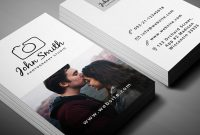 Photographer Business Card Template Psd Free  Creativeatoms with Free Business Card Templates For Photographers