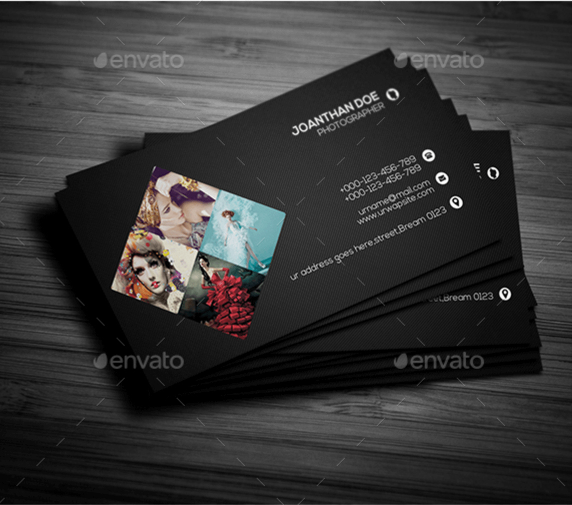 Photographers Business Cards Of Top  Free Business Card Psd Mockup Regarding Free Business Card Templates For Photographers