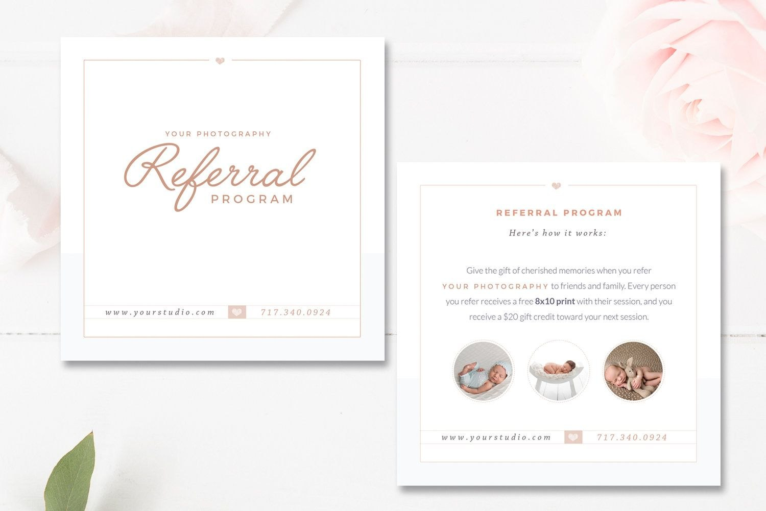 Photography Referral Card Templates Referral Program  Marketing With Photography Referral Card Templates