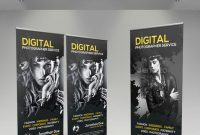 Photography Rollup Banner Graphics Designs  Templates Page inside Photography Banner Template