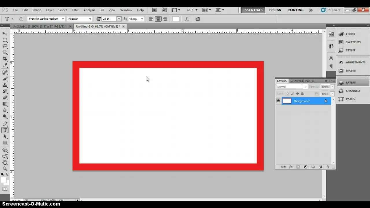 Photoshop Business Card Template With Bleeds  Correct Business Card Throughout Photoshop Name Card Template