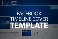 Photoshop Template Facebook Timeline Cover Psd File  Youtube inside Facebook Banner Template Psd