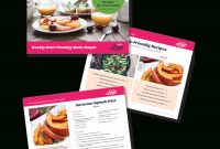 Photoshop Template For Meal Planning And Recipe Card Version inside Recipe Card Design Template