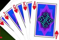 Photoshop Tutorial Part   How To Create A Custom Playing Card pertaining to Custom Playing Card Template