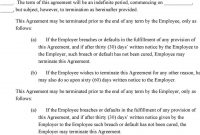 Physician Assistant Employment Agreement Terms Of Agreement  Pdf Intended For Physician Consulting Agreement Template