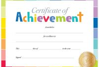 Pindanit Levi On מסגרות  Certificate Of Achievement Preschool in Student Of The Year Award Certificate Templates