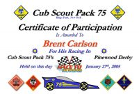Pinewood Derby Certificate Template  Bizoptimizer with regard to Pinewood Derby Certificate Template