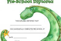 Pinheather Haynes On Homeschooling Ideas  Preschool regarding Preschool Graduation Certificate Template Free