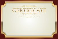 Pinjandy Tubo On Graphic Design  Certificate Templates within High Resolution Certificate Template