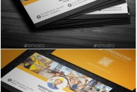 Pinphil Pallen On Creative Cards  Construction Business Cards intended for Construction Business Card Templates Download Free