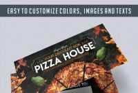 Pizza House – Free Gift Certificate Psd Template –Elegantflyer throughout Pizza Gift Certificate Template