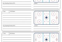 Plan Template Hockey Practice Of Usa Football ~ Tinypetition pertaining to Blank Hockey Practice Plan Template