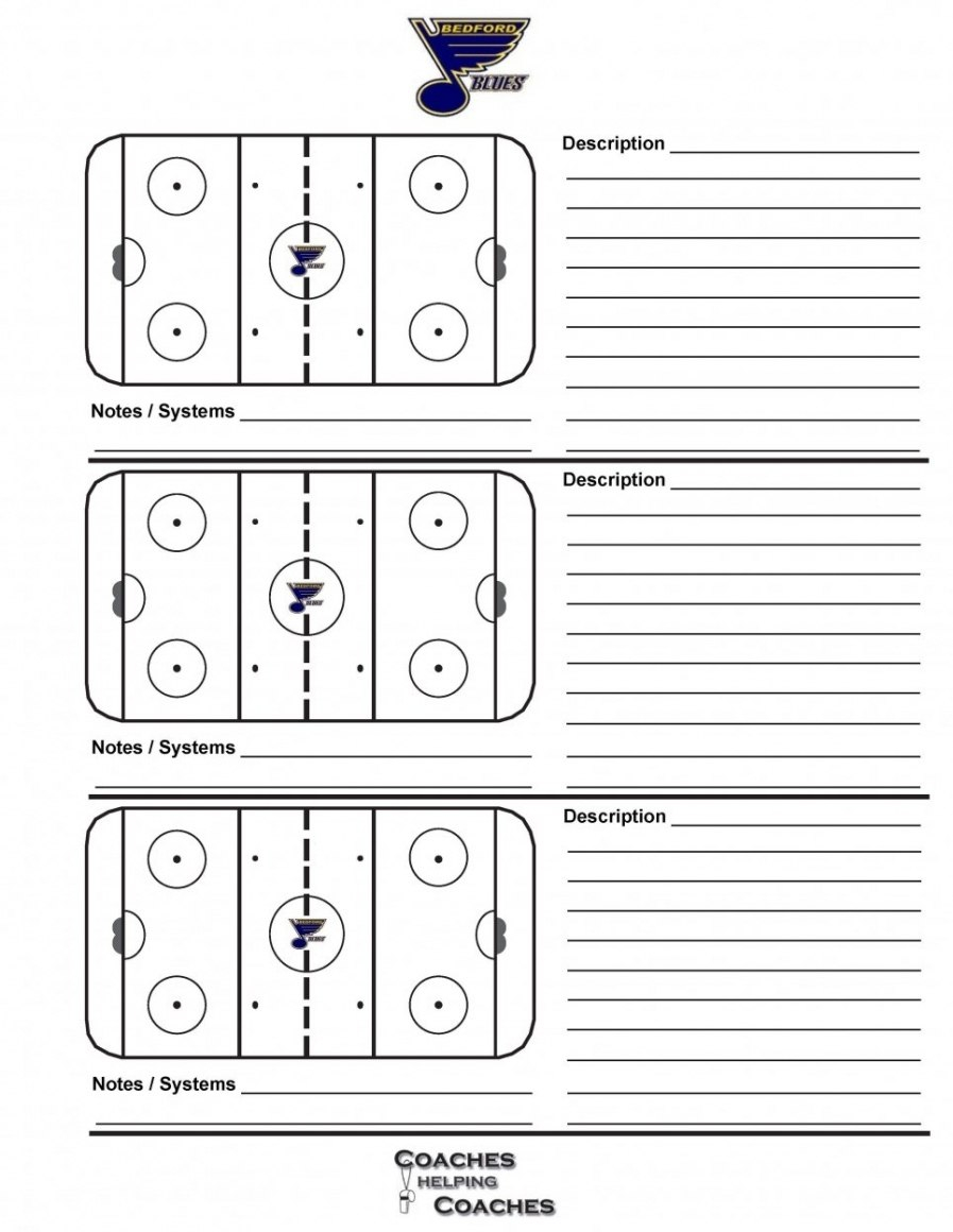 Plan Template Hockey Practice Rink Diagram Elegant ~ Tinypetition Within Blank Hockey Practice Plan Template
