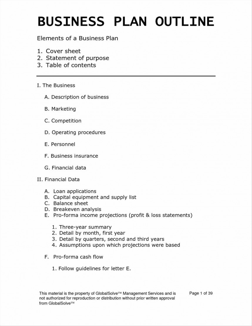 Plan Templates Business Awesome Short Brief Example Template In Consulting Business Plan Template Free