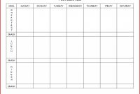 Plan Templates Weekly Meal Template Day Menu Planner Elegant regarding Menu Chart Template