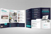 Portfolio Trifold Brochure Design Idmlillustratorversionindesign inside Brochure Templates Adobe Illustrator