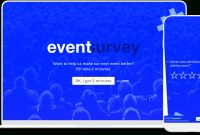 Postevent Satisfaction  Feedback Survey  Typeform Templates inside Post Event Evaluation Report Template