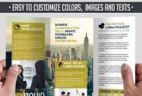 Powerful Free Adobe Indesign Brochures Templates Elegantflyer inside Adobe Tri Fold Brochure Template