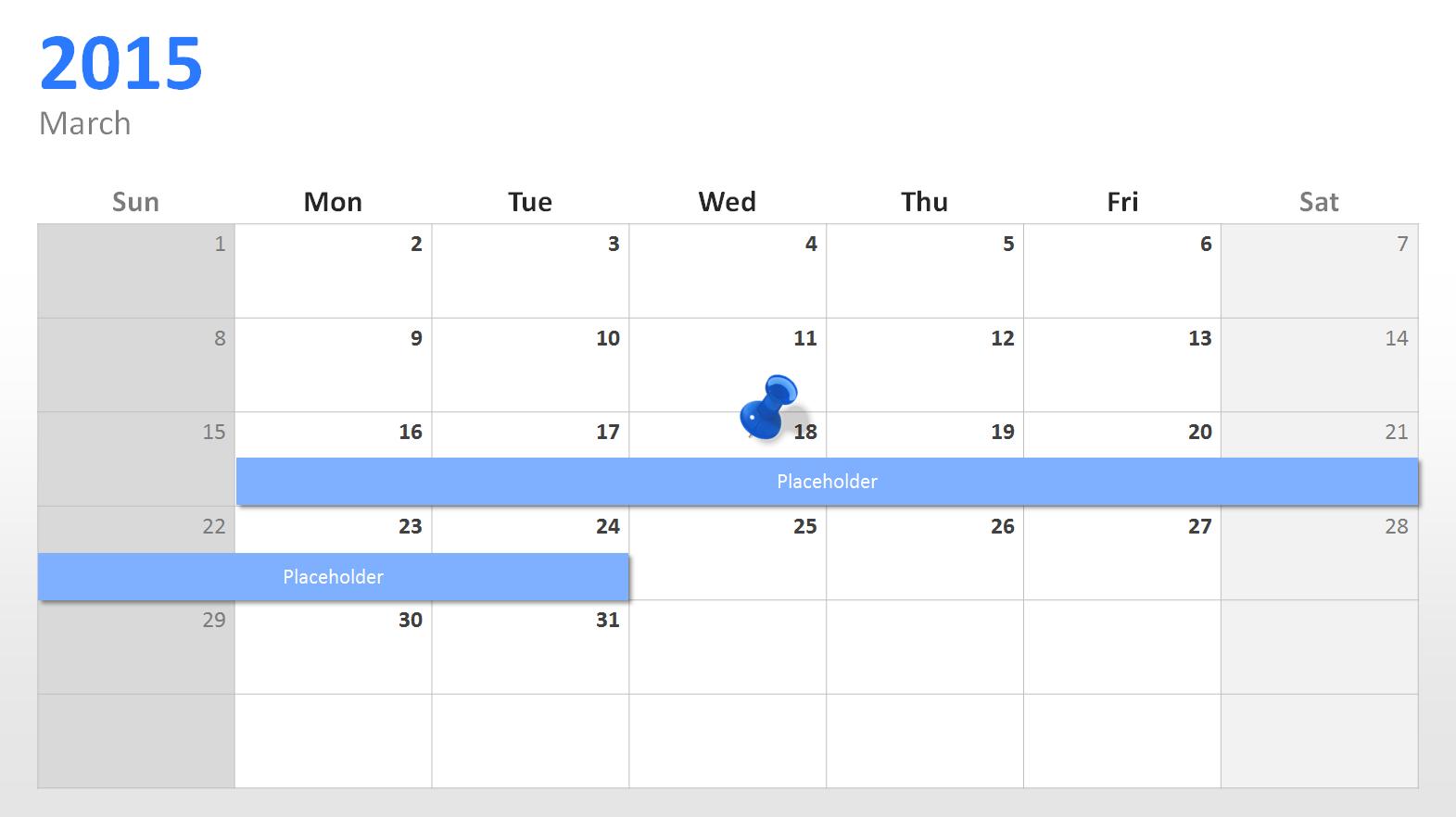 Powerpoint Calendar The Perfect Start For   Presentationload Blog In Powerpoint Calendar Template 2015