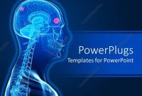 Powerpoint Template A D Human Character Showing The Brain And with Radiology Powerpoint Template