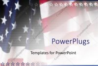 Powerpoint Template American Flag Patriotic On Faded Background intended for Patriotic Powerpoint Template