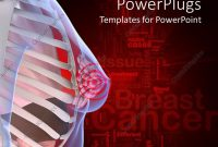 Powerpoint Template Anatomy Of The Female Breast With A Breast inside Breast Cancer Powerpoint Template