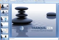 Powerpoint Tranquil Zen Presentation Template inside Presentation Zen Powerpoint Templates