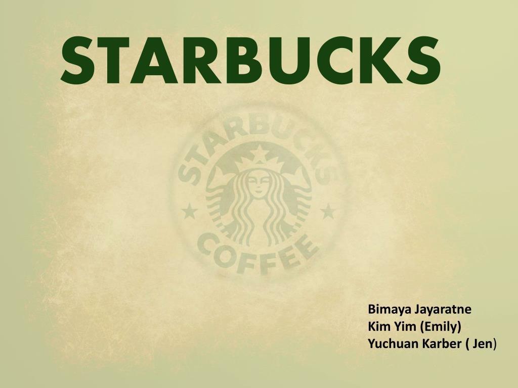 Ppt  Starbucks Powerpoint Presentation  Id Throughout Starbucks Powerpoint Template