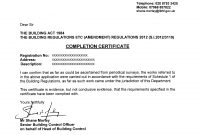 Practical Completion Certificate Template Uk  Mandegar regarding Jct Practical Completion Certificate Template