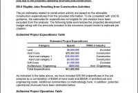 Preliminary Eb Project Report with Project Analysis Report Template