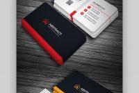 Premium Business Card Templates In Photoshop Illustrator with regard to Designer Visiting Cards Templates