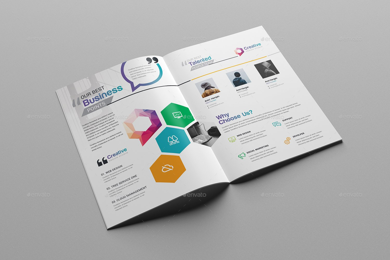Premium  Free Business Brochure Templates Psd To Download Pertaining To Single Page Brochure Templates Psd