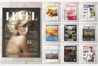 Premium Magazine Templates For Professionals  Inspirationfeed regarding Blank Magazine Template Psd