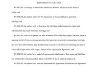 Prenuptial Agreement Form  Fill Online Printable Fillable Blank throughout New York Prenuptial Agreement Template