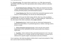 Prenuptial Agreement Samples  Forms ᐅ Template Lab for Free Prenuptial Agreement Template
