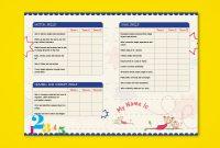 Prenursery Report Card On Behance  Report Card Ideas  School inside Boyfriend Report Card Template