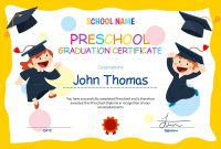 Preschool Certificate Templates  Pdf  Free  Premium Templates within Leaving Certificate Template