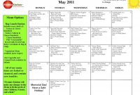 Preschool Lunch Menu Ideas  Daycare Info  School Lunch Menu Lunch for School Lunch Menu Template
