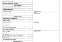 Preschool Progress Report Cards  Childcare  Kindergarten Report in Pupil Report Template