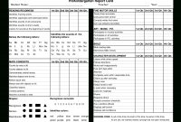 Preschool Report Card  Templates At Allbusinesstemplates within Character Report Card Template