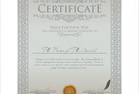 Pretty Life Saving Award Certificate Template Images Lifesaving regarding Life Saving Award Certificate Template