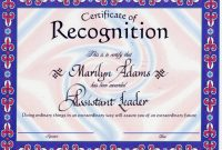Pretty Recognition Certificate Template Images Gallery   Amazing pertaining to Employee Recognition Certificates Templates Free