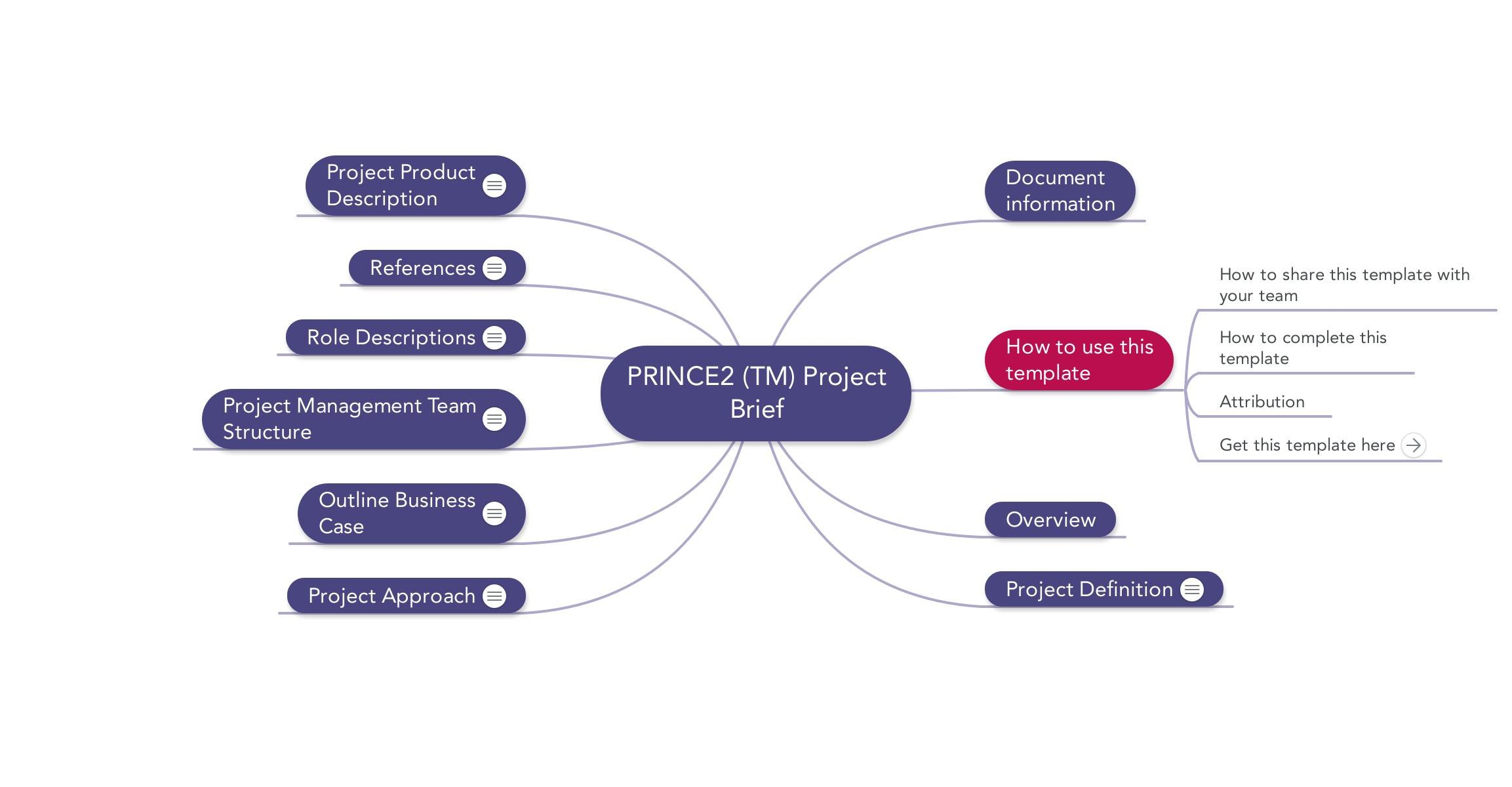 Prince Project Brief  Download Template With Prince2 Business Case Template Word